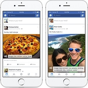 Facebook iOS App Gets VoiceOver Feature to Help Blind Users 'See' Photos