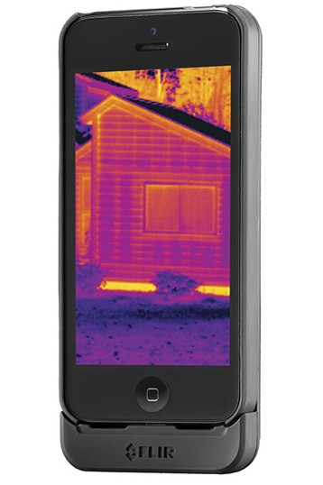 CES 2014: FLIR Systems Debuts 'FLIR ONE' Thermal Camera Case for iPhone 5s and iPhone 5