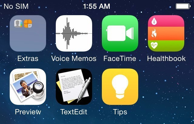 iOS 8 - Magazine cover