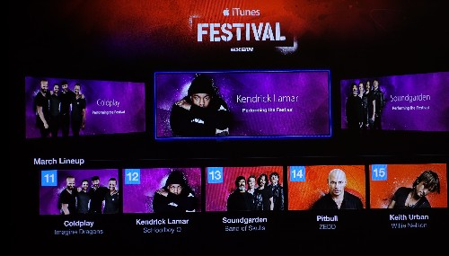 Apple TV Updated with Revamped Channel for Upcoming iTunes Festival at SXSW 2014