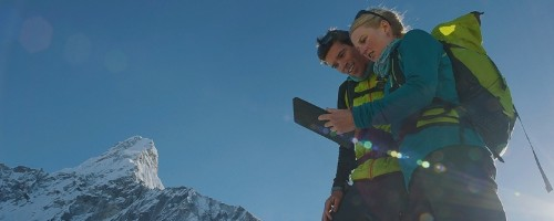 Apple Debuts New Mountaineering 'Your Verse' iPad Story