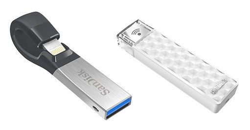 SanDisk Launches 256GB Flash Drive and Wireless Stick for iPhone and iPad