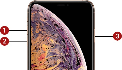 How to Force Restart iPhone X, iPhone XS, iPhone XS Max, and iPhone XR
