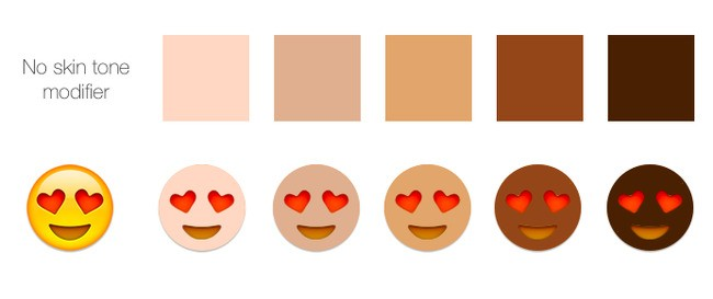 Emoji to Gain Expanded Racial Diversity With Skin Tone Modifier Option in Mid-2015