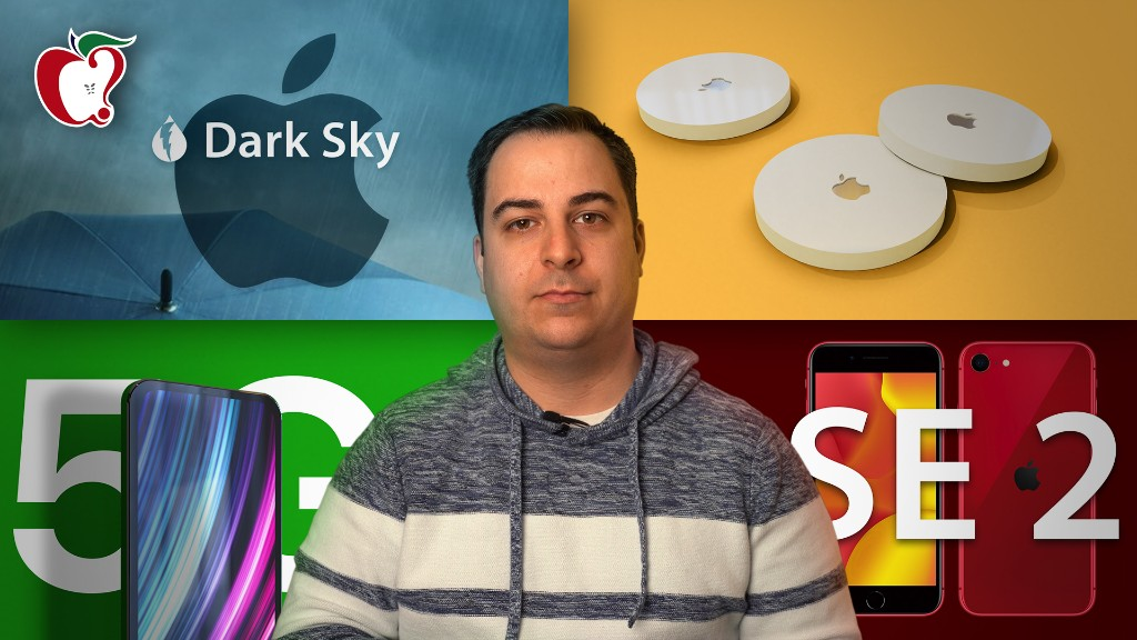 Top Stories: Apple Leaks iPhone SE and AirTags, Apple Buys Dark Sky, and More