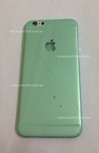Alleged iPhone 6 Back Cover Shown Off in New Photo