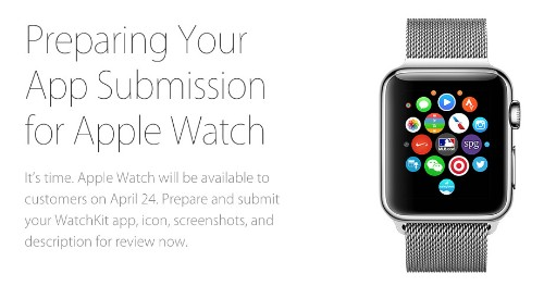 Apple Begins Accepting Apple Watch App Submissions From All Developers