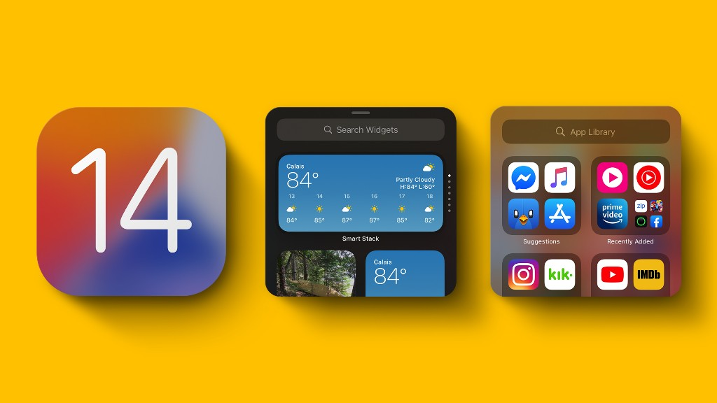 iOS 14 Home Screen Changes: App Library, Widgets, Hiding Apps and More