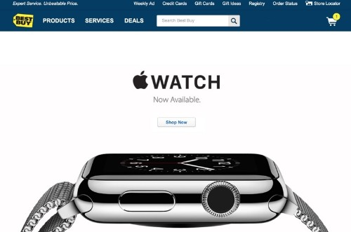 Best Buy Accelerating Apple Watch Rollout to All 1,050 Stores Amid Strong Demand