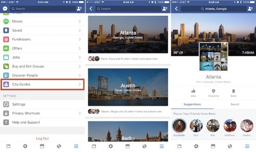 Facebook 'City Guides' Will Help You Plan Your Next Trip Thanks to Recommendations From Friends