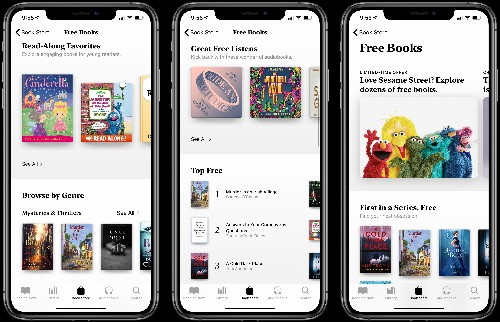 Apple Offers Free Books and Audiobooks to Users for a Limited Time Only