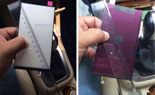 First Leaked Display Part from the 5.5-Inch iPhone 6