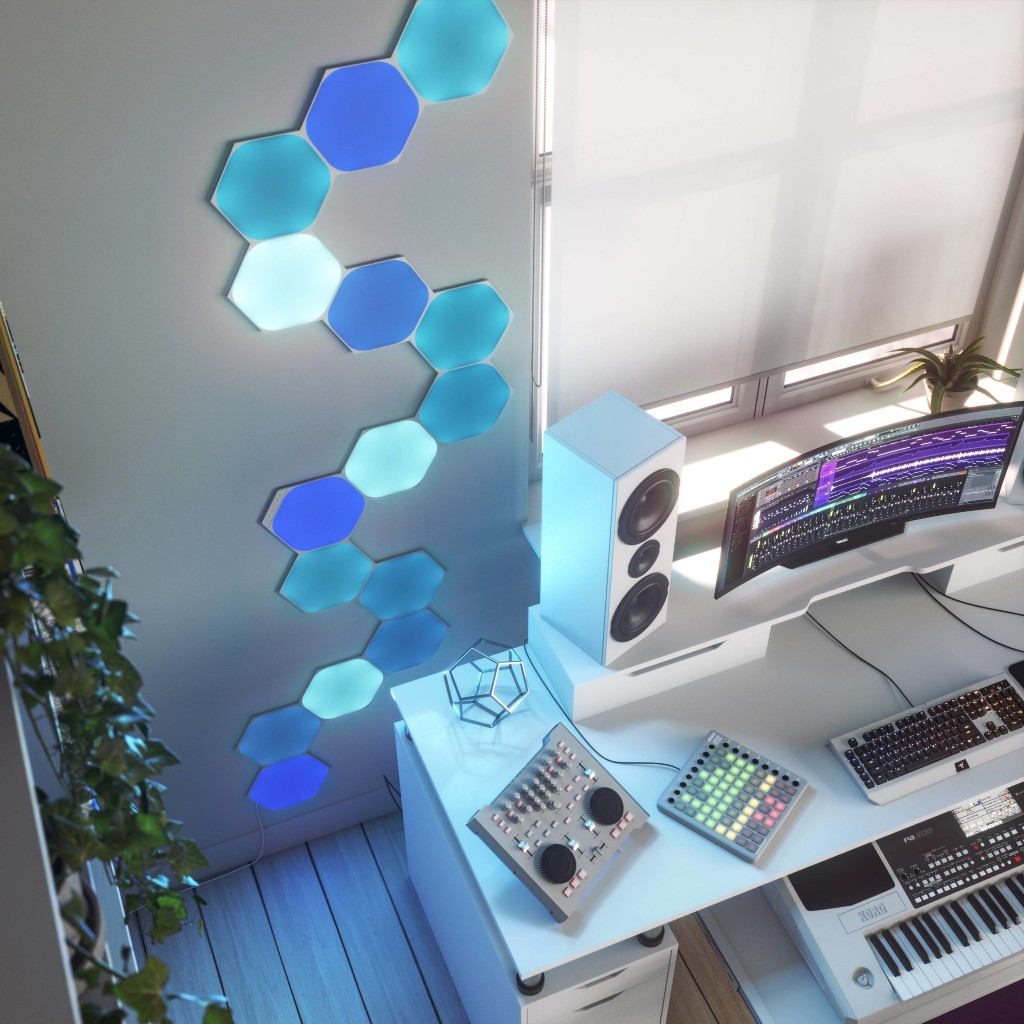 Review: Nanoleaf's HomeKit-Enabled Hexagons Paint Your Walls With Color