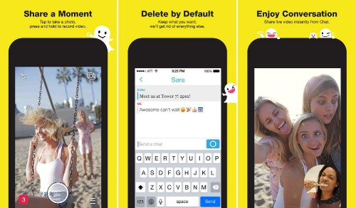 Snapchat Updated with Support for iPhone 6 and iPhone 6 Plus, Improved Captions and Filters