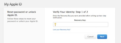 Losing Two-Factor Recovery Key Could Permanently Lock Apple ID