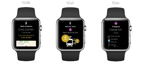 'Citymapper' and 'Transit App' Offer In-Depth Looks at Transit Experiences on Apple Watch