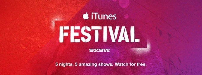 Apple Bringing iTunes Festival to U.S. at SXSW 2014