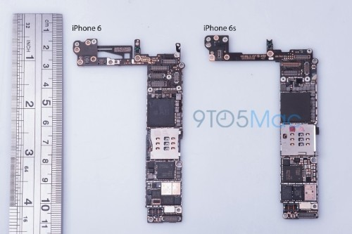 'iPhone 6s' Logic Board Suggests 16GB Base Model and Updated NFC Hardware
