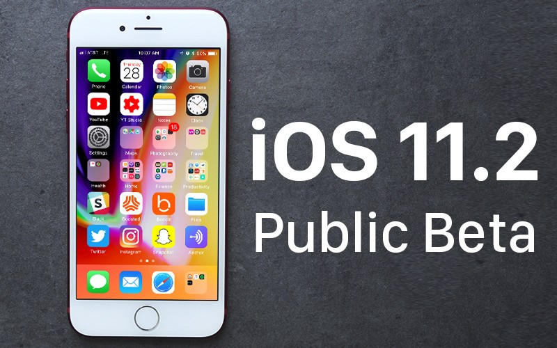 Apple Releases First Beta of iOS 11.2 for Public Beta Testers