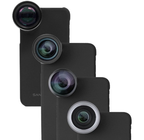 Win a Pro Photography Lens Set For Your iPhone From SANDMARC