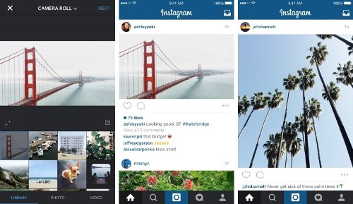 Instagram Announces In-App Support for Portrait and Landscape Modes