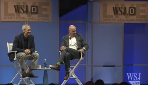 WSJ Posts Full Video of Tim Cook Discussing Apple Pay, Apple Watch, and More