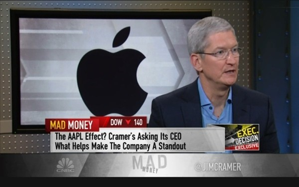 Apple CEO Tim Cook: 'We Want to Change the World Through Our Products'