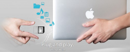 Transcend Introduces JetDrive Lite Expansion Cards Up to 128GB for MacBook Air, Retina Macbook Pro