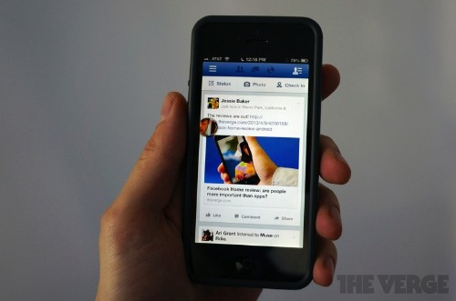 Facebook Bringing Chat Heads to Its iOS Apps, Updated iPad Version With New Streamlined Design [Update: Live]