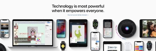 Apple Highlights Global Accessibility Awareness Day With Front-Page Feature [Updated]