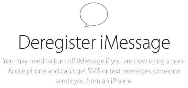 Apple Launches Web Tool to Deregister Phone Numbers from iMessage
