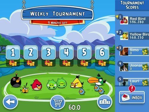 Rovio to Bring Facebook Game 'Angry Birds Friends' to iOS