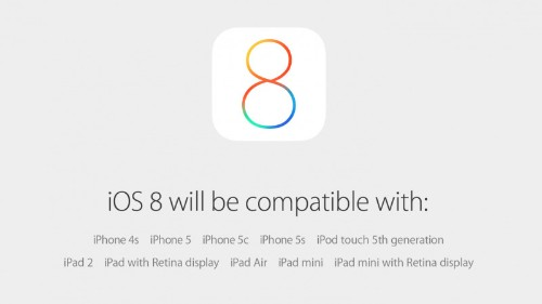 iOS 8 Launching on September 17