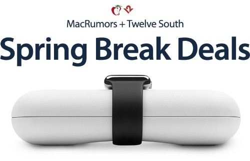 Twelve South Debuts Spring Break Sale With Discounts on Travel Accessories