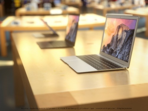 Rumor Suggests 12-Inch Retina MacBook Air Could Launch During March 9 Apple Watch Event