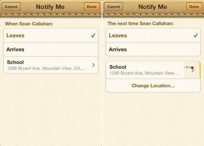'Find My Friends' Updated With Redesigned Location Alerts Page