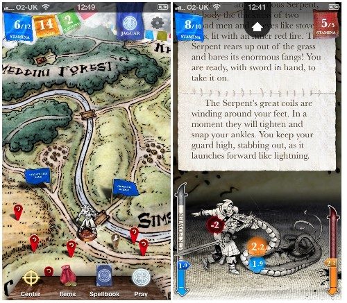 Steve Jackson's 'Sorcery!' Fantasy Role-Player is a Free Download on the App Store