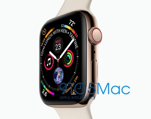 Apple Accidentally Leaks Images of Upcoming Apple Watch Series 4 Models With Larger Displays