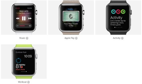 Apple Watch 'Guided Tours' Site Updated With Videos on Apple Pay, Activity and Workout