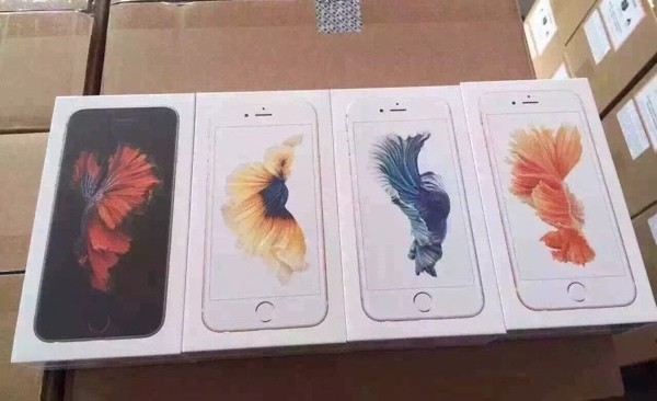 iPhone 6s Packaging and Rose Gold iPhone Shown Off in New Photos