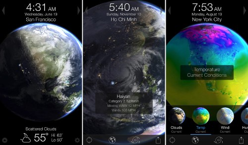 3D Planet Weather Simulator 'Living Earth' Updated with New Visual Design, Background App Refresh
