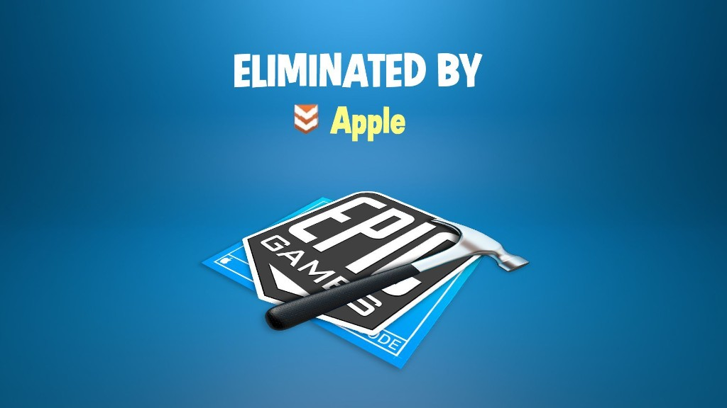Apple Terminates Epic Games' Developer Account