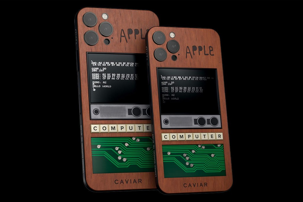 Original Apple I Piece Used in Caviar's $10,000 Limited-Edition iPhone 12 Pro