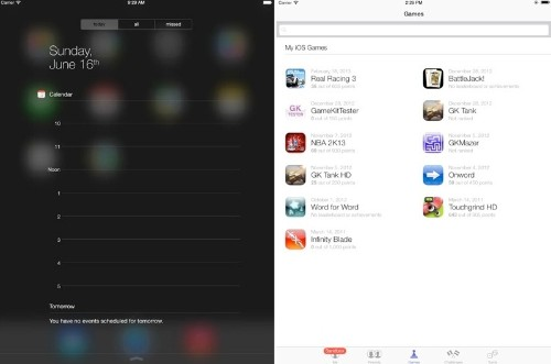 Simulator Provides Early Look at iOS 7 on the iPad