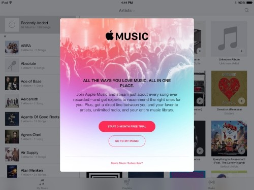 Signs of Apple Music Begin Showing Up in iOS 8.4 Beta Music App