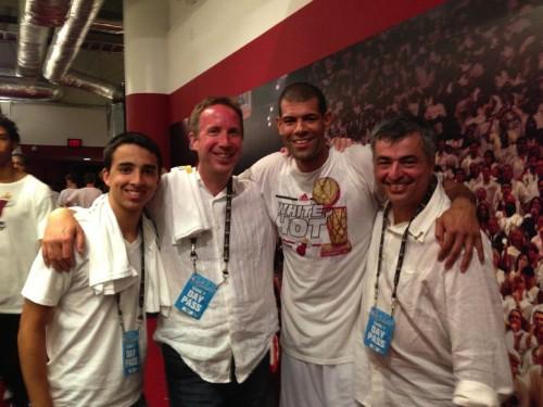 Apple's Eddy Cue Spotted Celebrating Miami Heat's NBA Championship Win