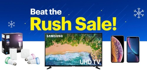 Deals: Best Buy's 'Beat the Rush' Sale Kicks Off Black Friday Savings on iPhone, Philips Hue, and 4K TVs