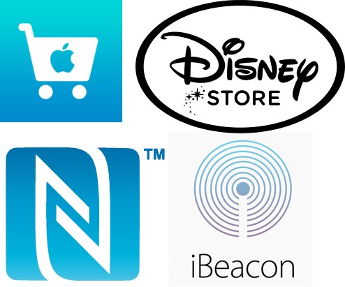 Apple Rolling Out New iBeacon Transmitters, NFC Readers to Apple Stores and Disney Stores