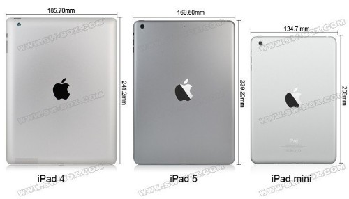 Detailed Video Showing iPad 5 Physical Changes