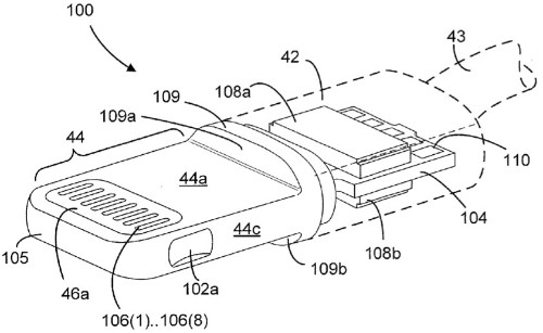 Apple's Lightning Connector Detailed in Newly-Published Patent Applications